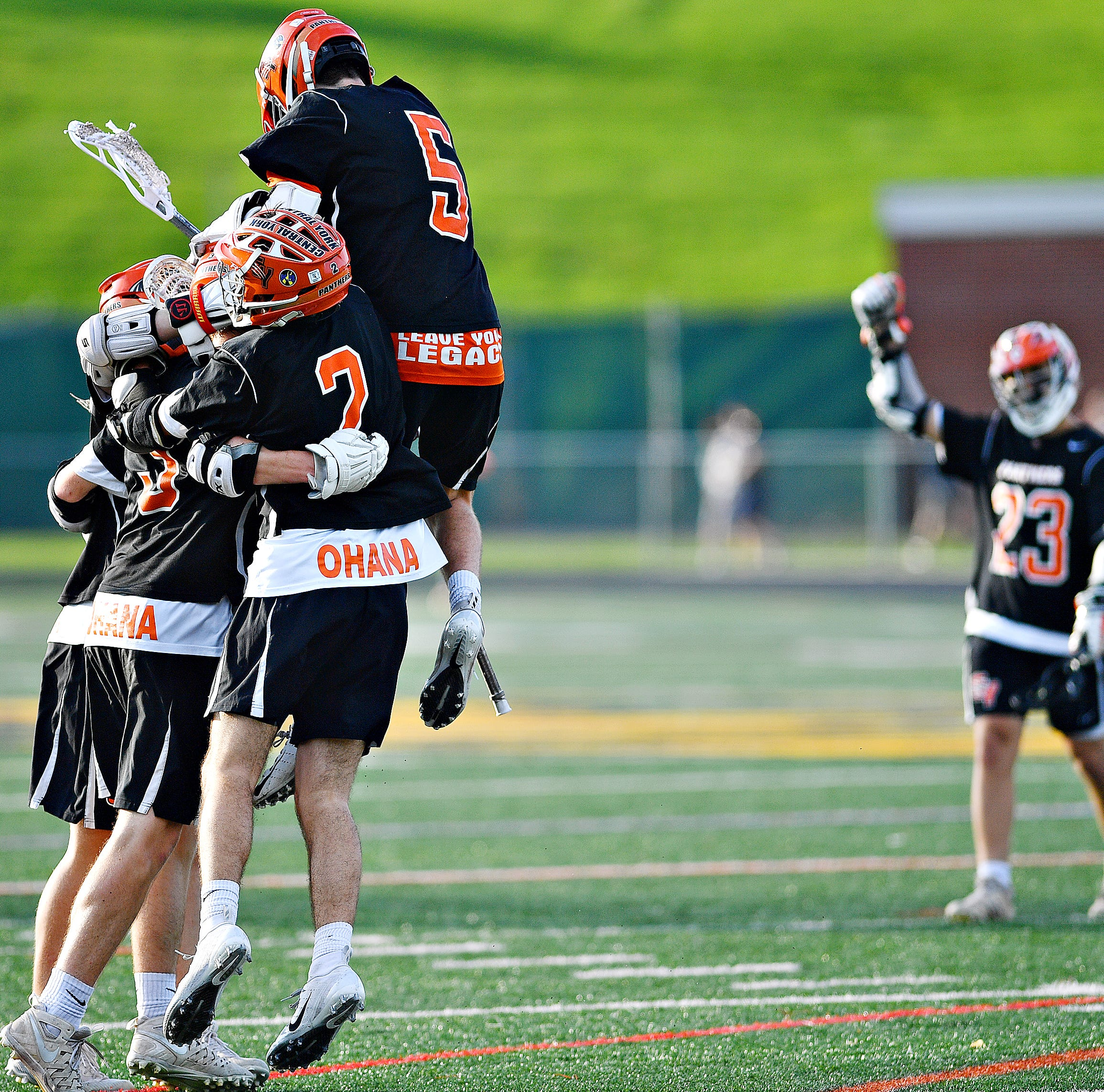Central York ends York Catholic's unbeaten boys' lacrosse season in York-Adams title game