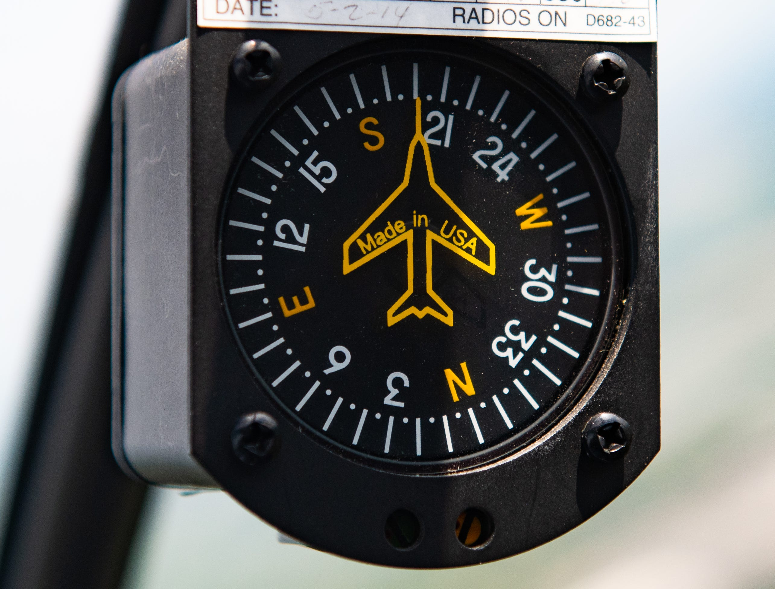 This compass helps Redlawsk stay on course to where ever she is headed, May 2, 2019.