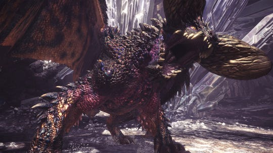 "Arch-tempered Nergigante from ""Monster Hunter World."""