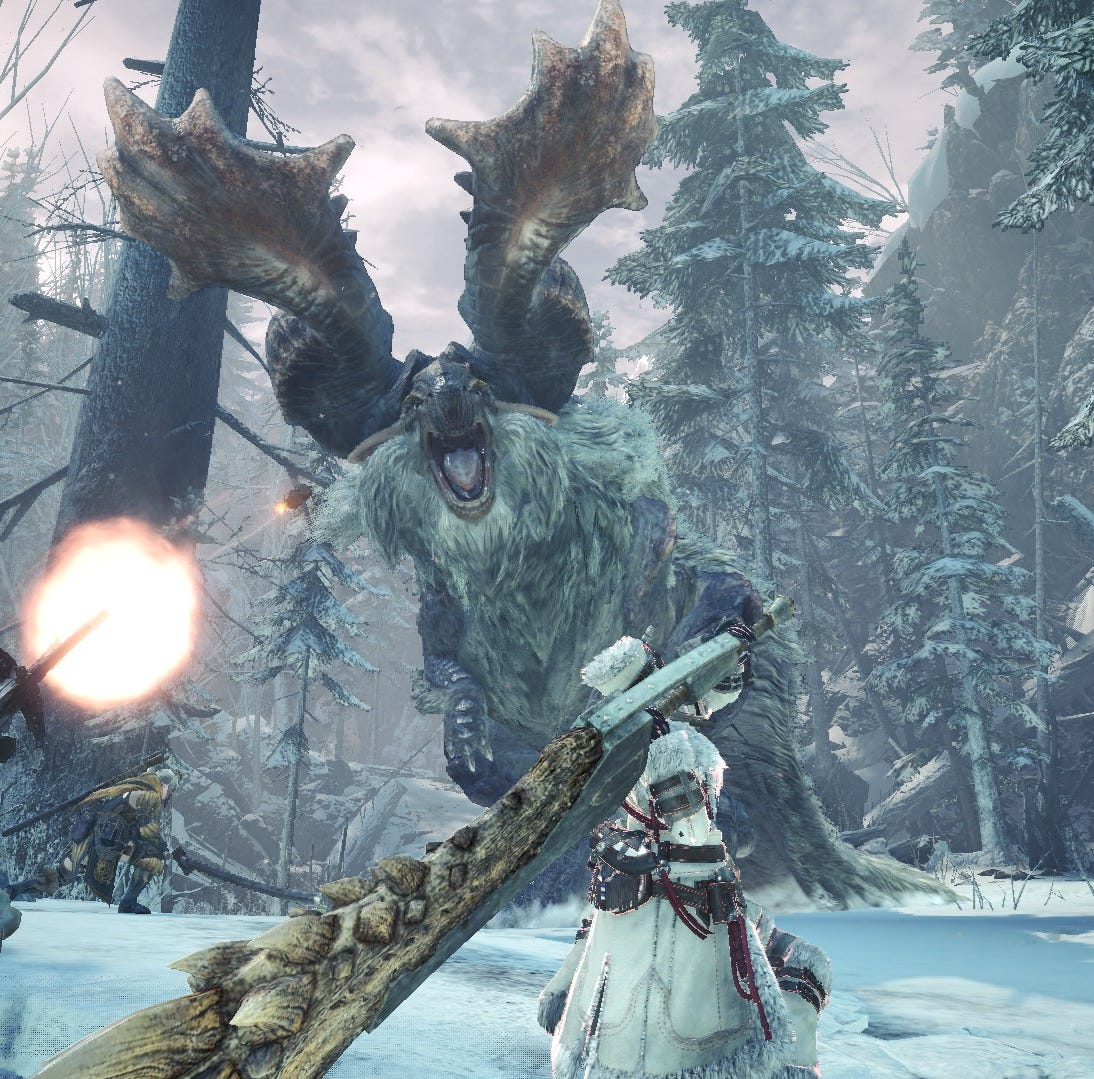 Clutch claw: Monster Hunter World Iceborne adds new slinger combos, custom mods