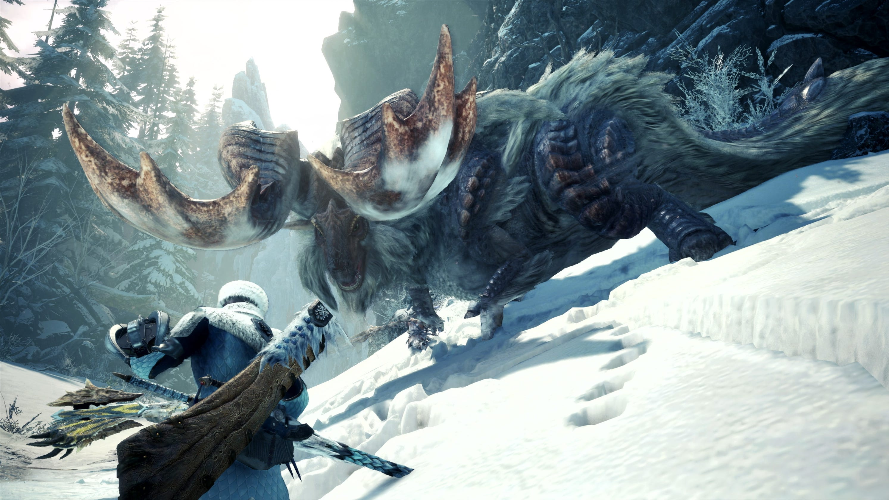 Monster Hunter World Iceborne Adds 2 Player Difficulty Base