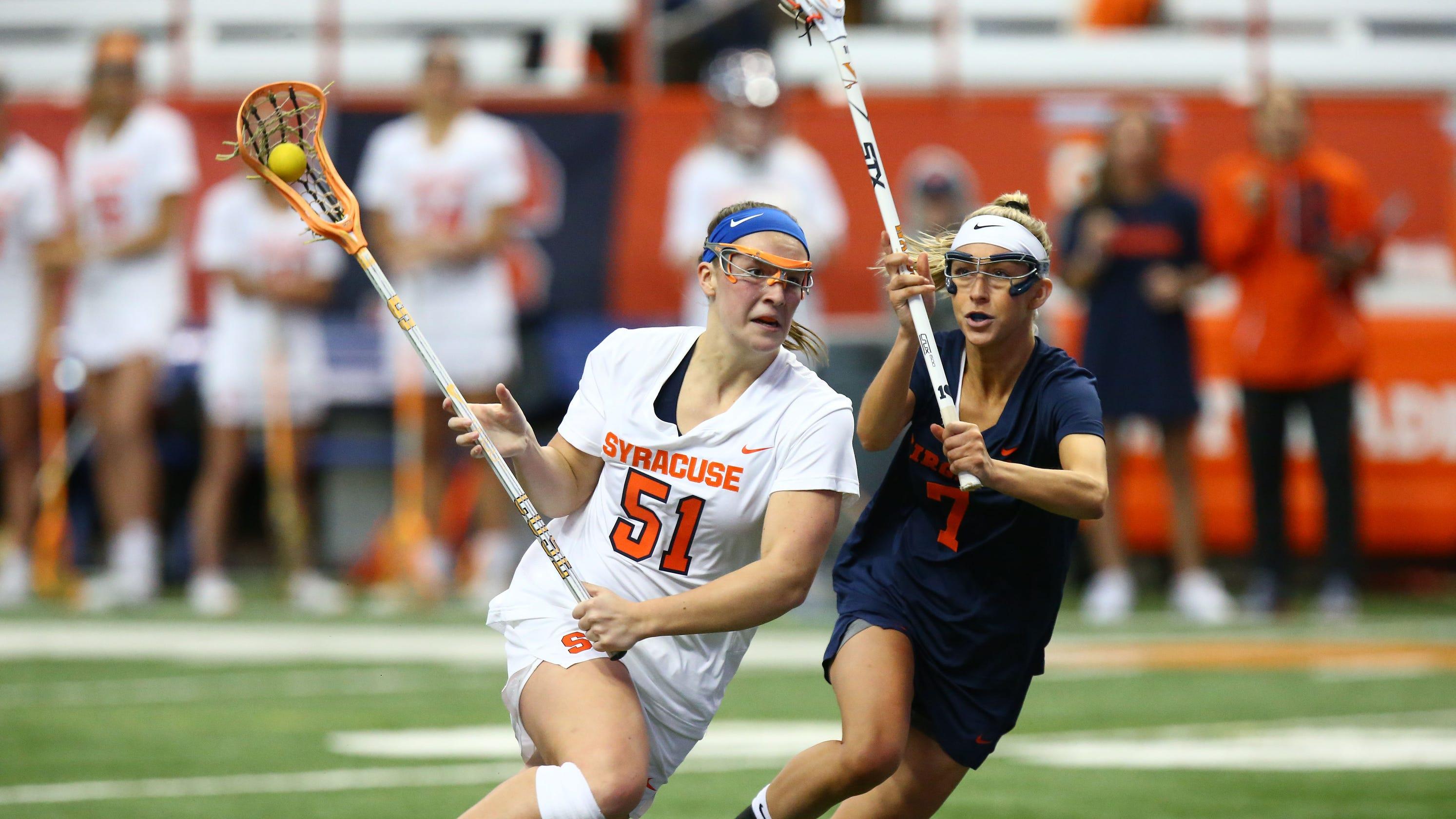 Emily Hawryschuk leads Syracuse women into NCAA lacrosse