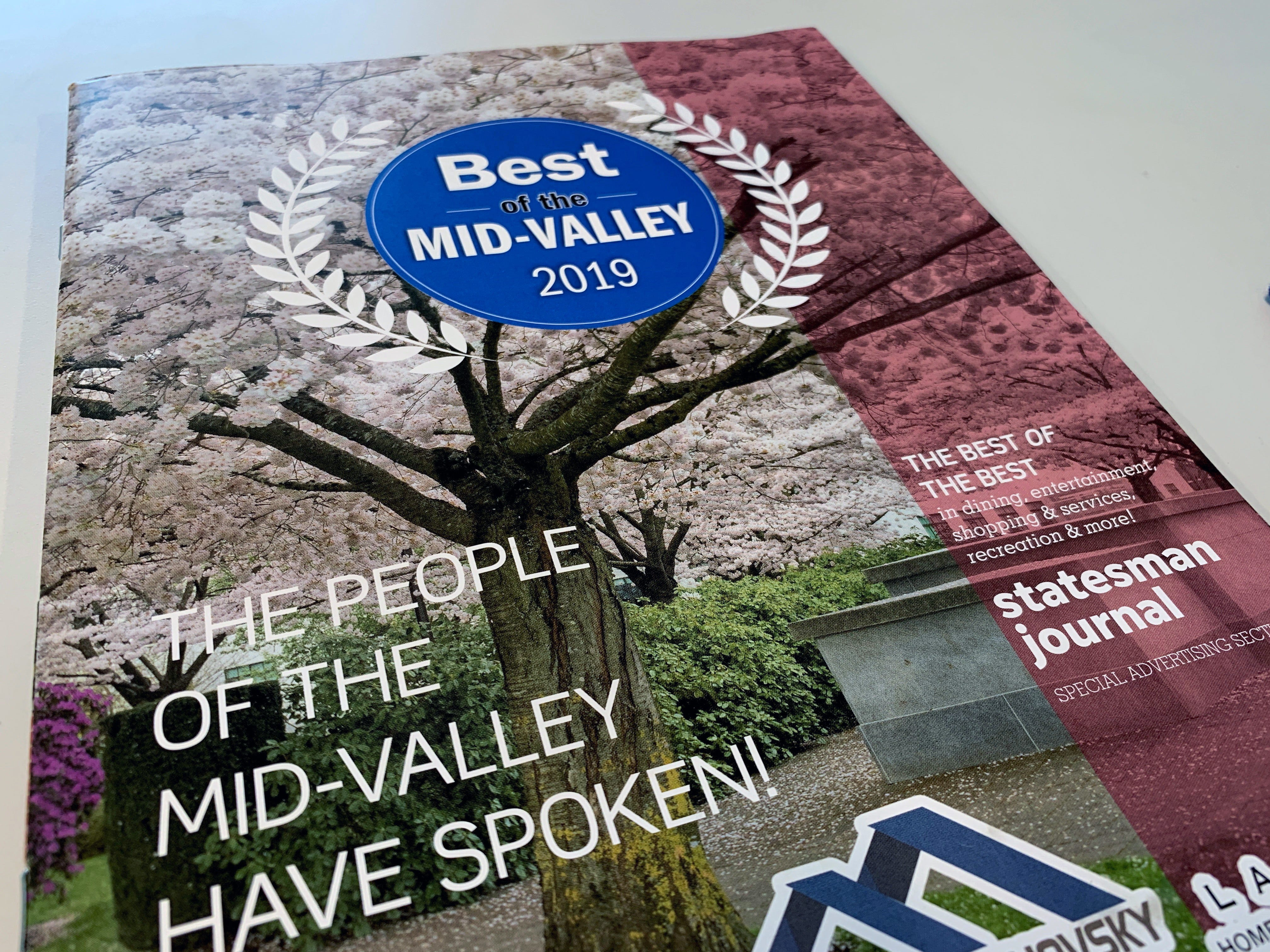 The votes are in and readers have made their choices for the 2019 Best of the Mid-Valley.