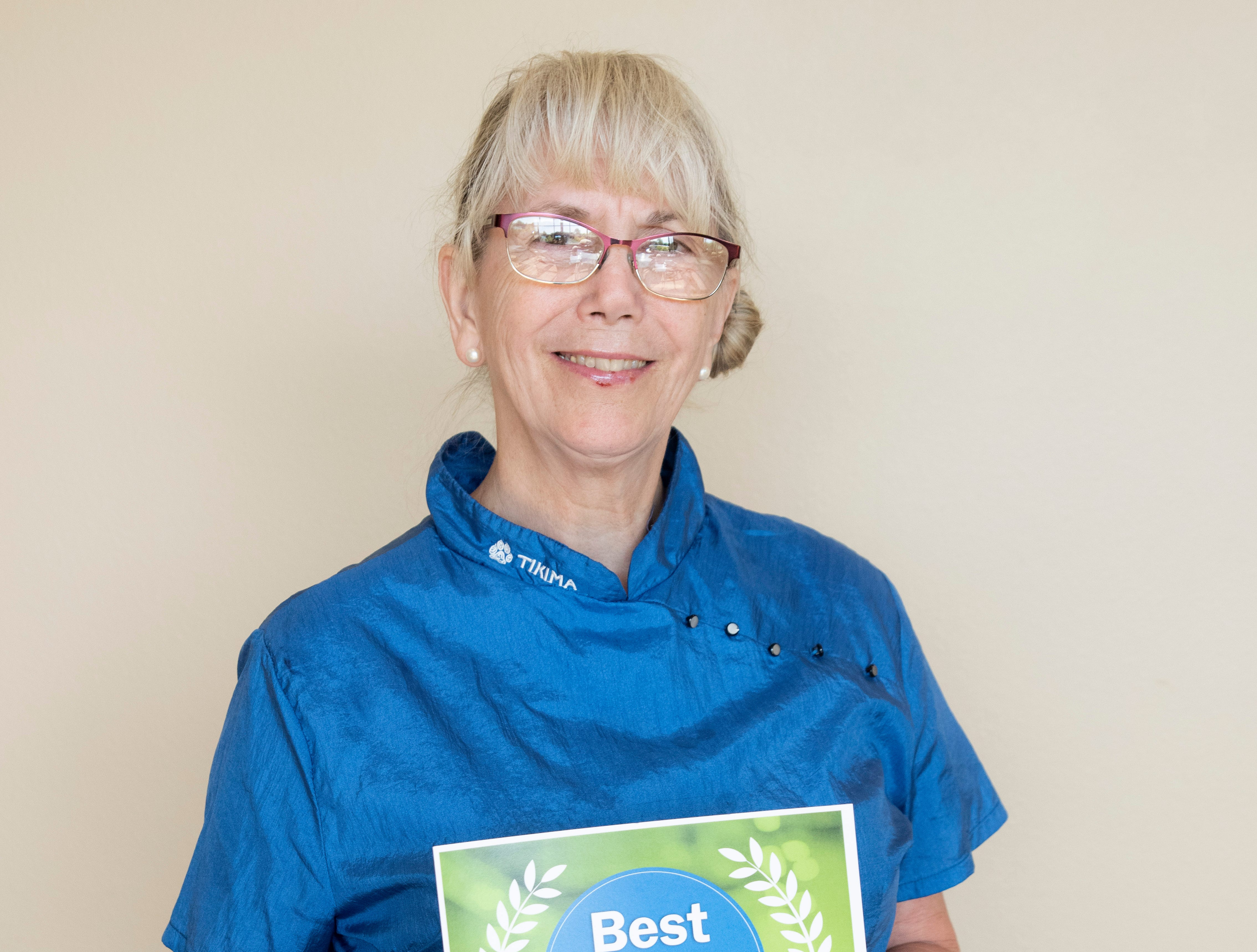 Debbie's Grooming won gold for Best Pet Grooming in the 2019 Best of the Mid-Valley.