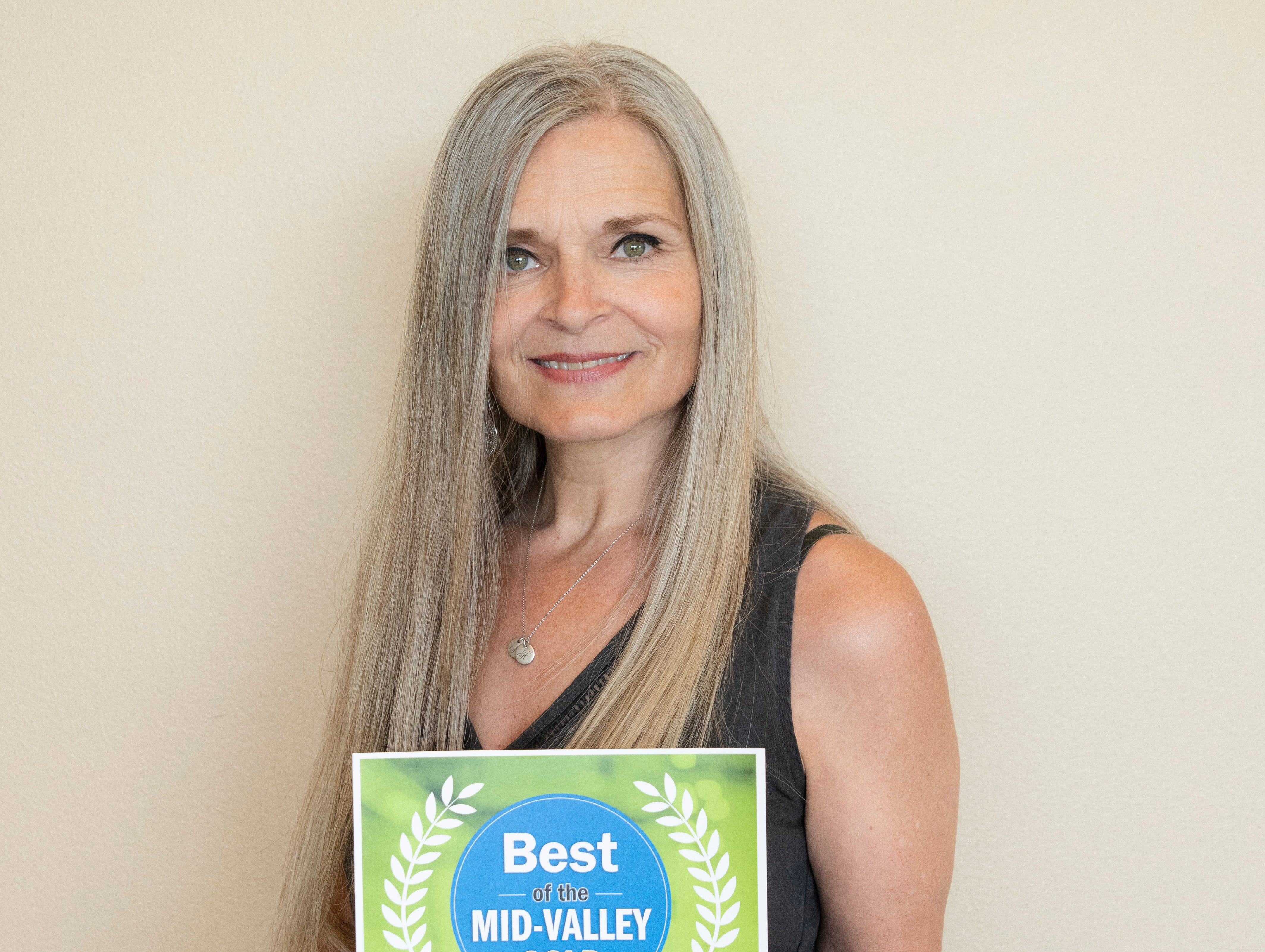 Nydrie Edwards won gold for Best Residential Real Estate Agent in the 2019 Best of the Mid-Valley.