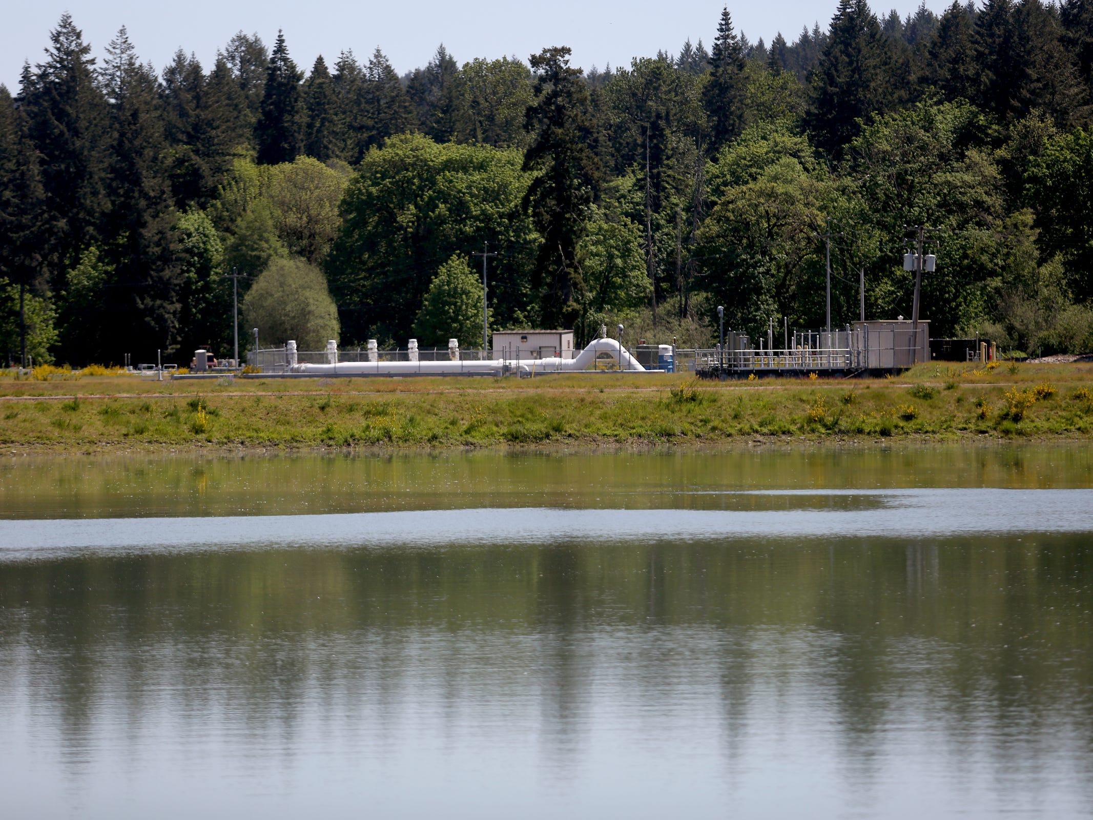 Geren Island Water Treatment Facility near Stayton on May 10, 2019. Salem officials are planning to spend more than $75 million to build defenses against toxic algae, in an effort to avoid a rerun of last year's drinking water crisis.