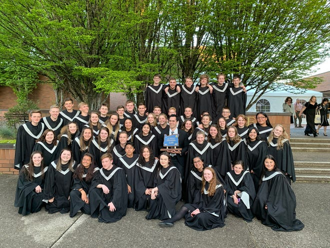 Silverton High School choir.
