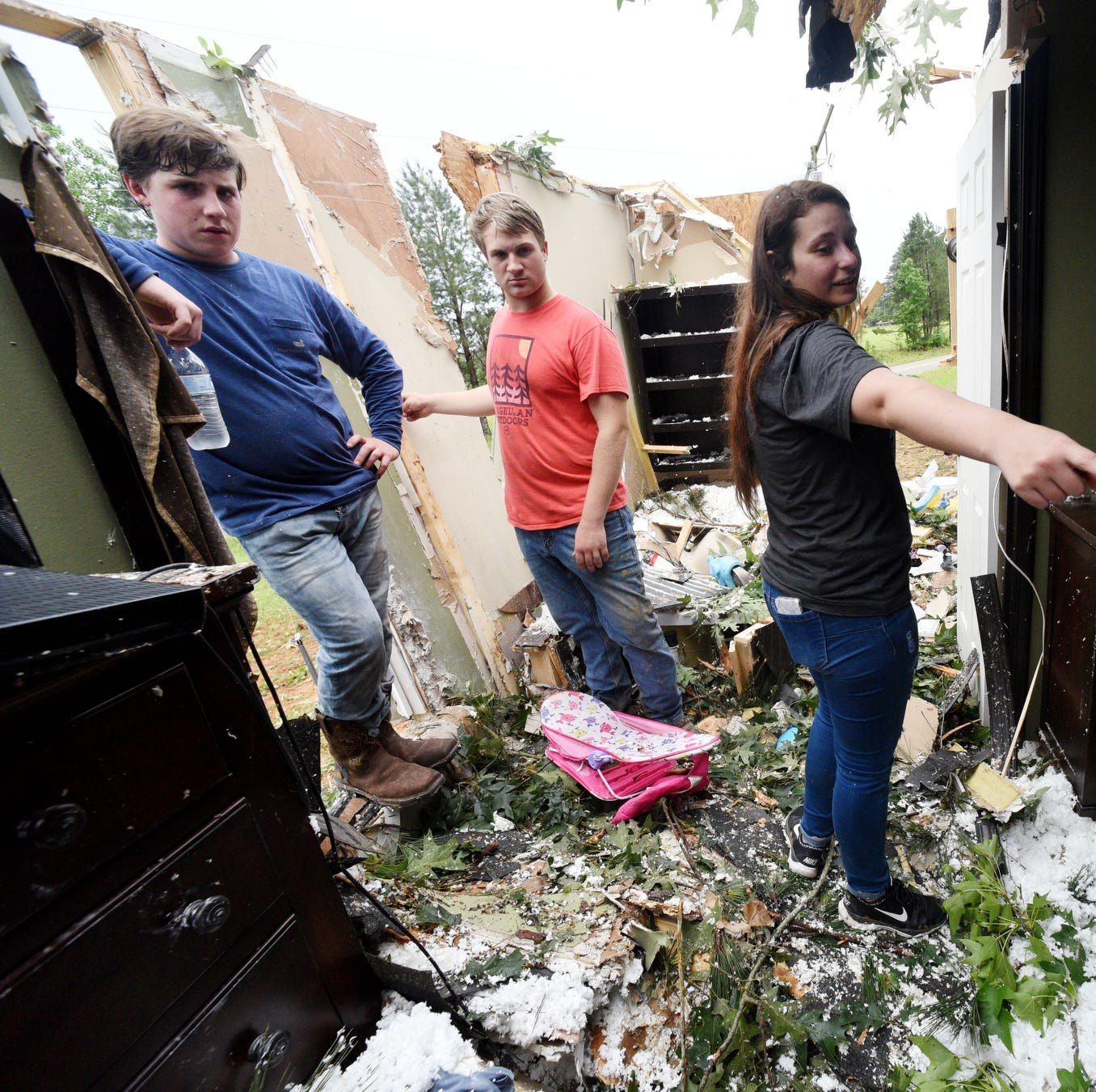 UPDATE: Ninth tornado confirmed in Louisiana; see paths, speed