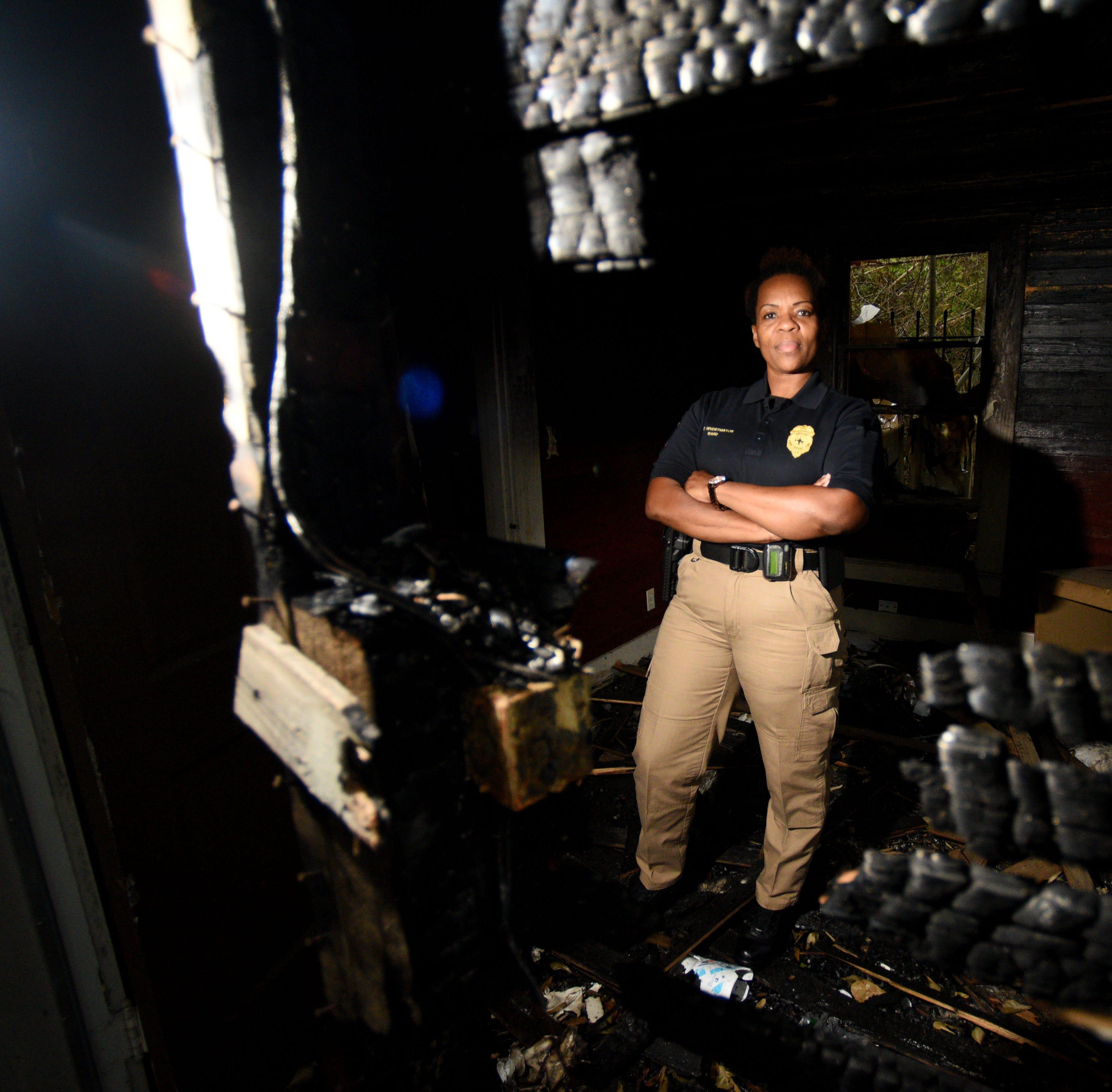 'Never say never'; Janet Ward becomes Shreveport's first female arson investigator