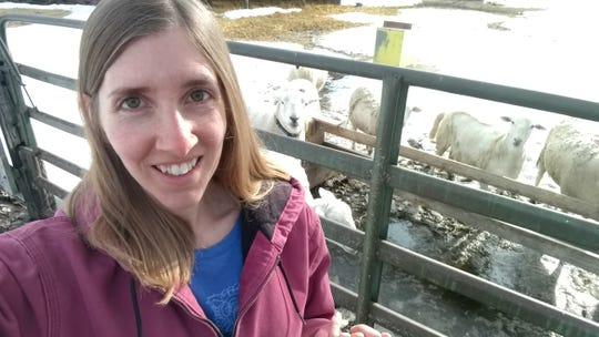 Tanya Svec of Svec Farm near Estilline, a farmer-member with Dakota Fresh.