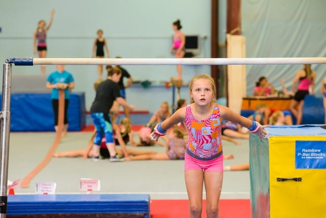 The gymnastics clinic will be held at Power & Grace Gymnastics, which opened a new 16,000-square-foot facility in the Sanford Sports Complex last year.