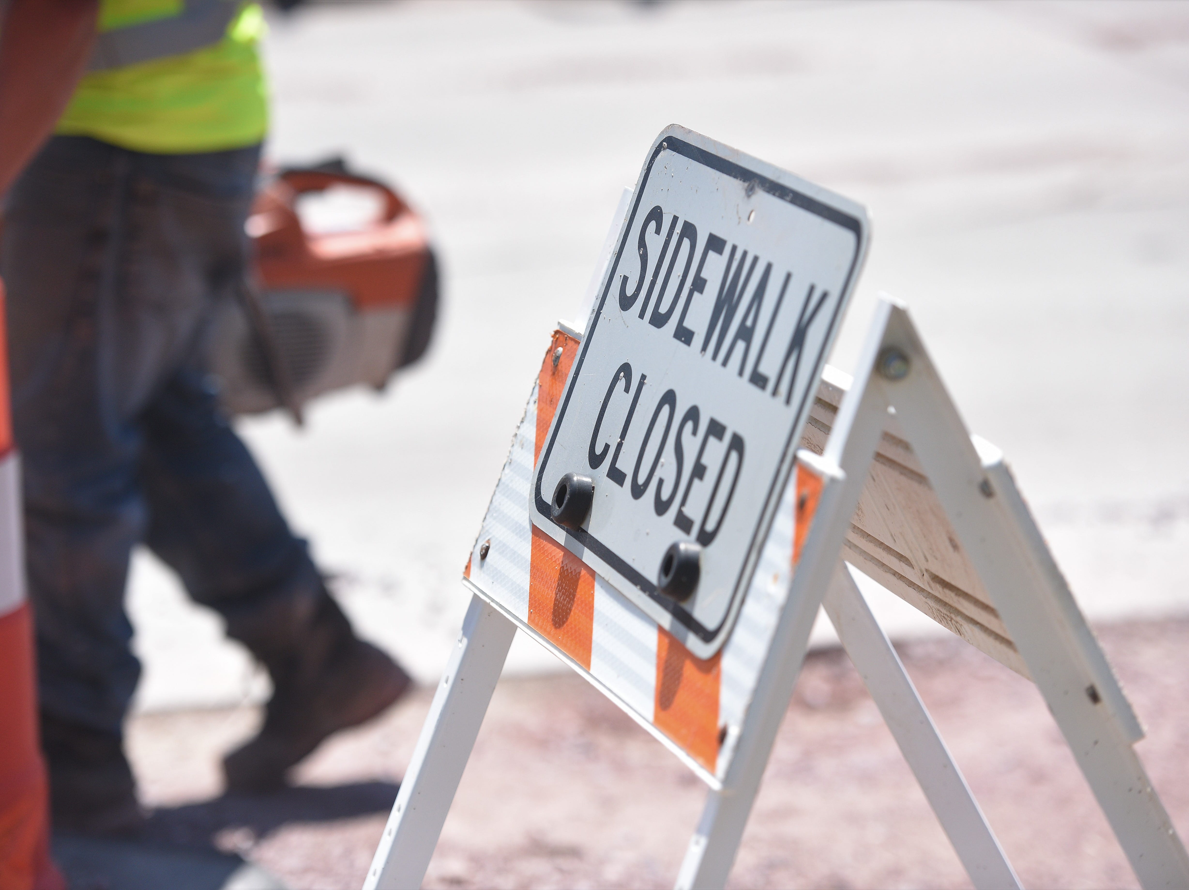 D & G Construction Inc. began a two-year project in April to rebuild East 26th Street between Yeager Road and Southeastern Avenue.