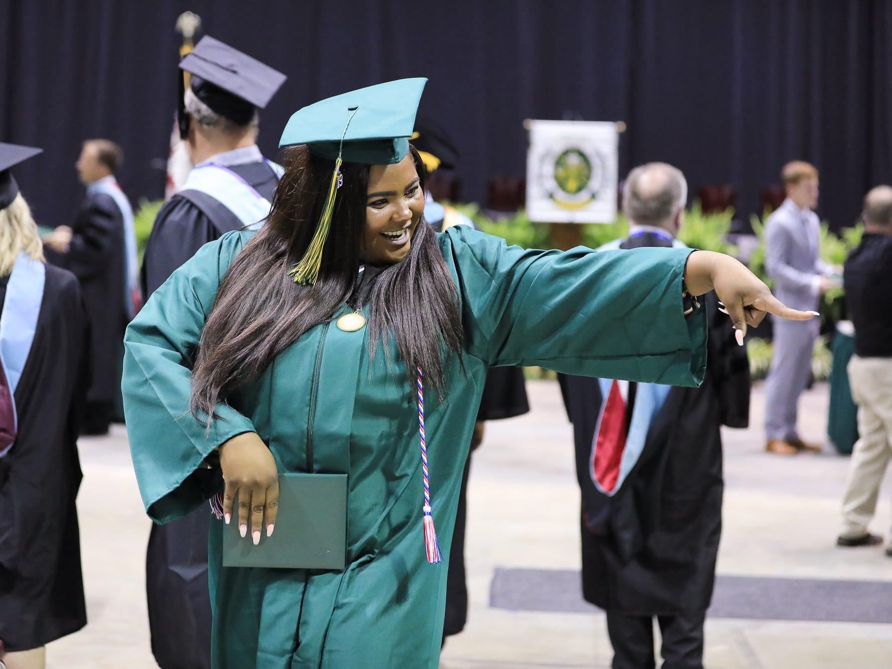 Parkview High School class of 2019 graduation ceremonies took places at JQH Thursday, May 9. 2019.