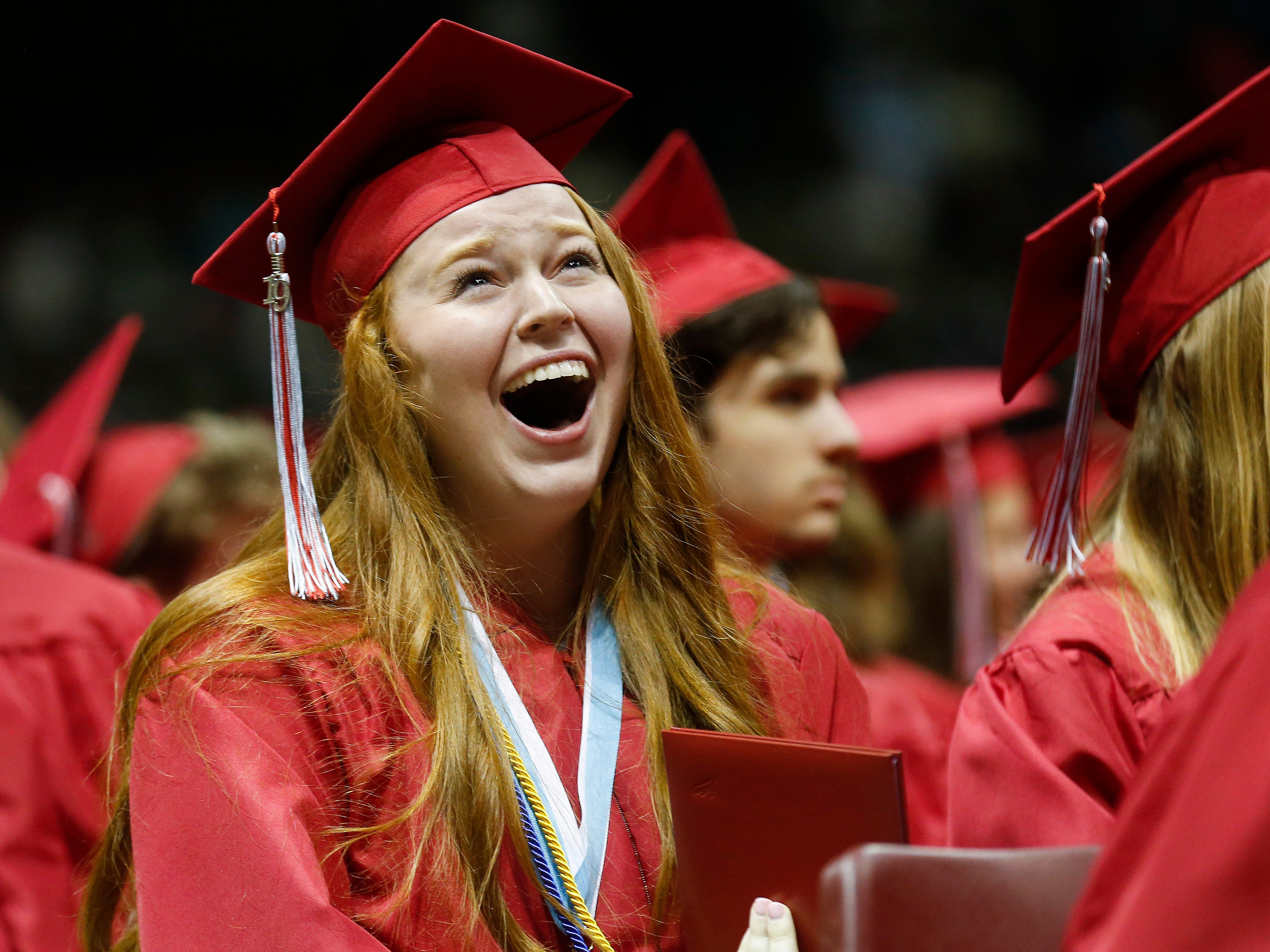 Scenes from Glendale High School's Commencement Ceremony at JQH Arena on Thursday, May 9, 2019.
