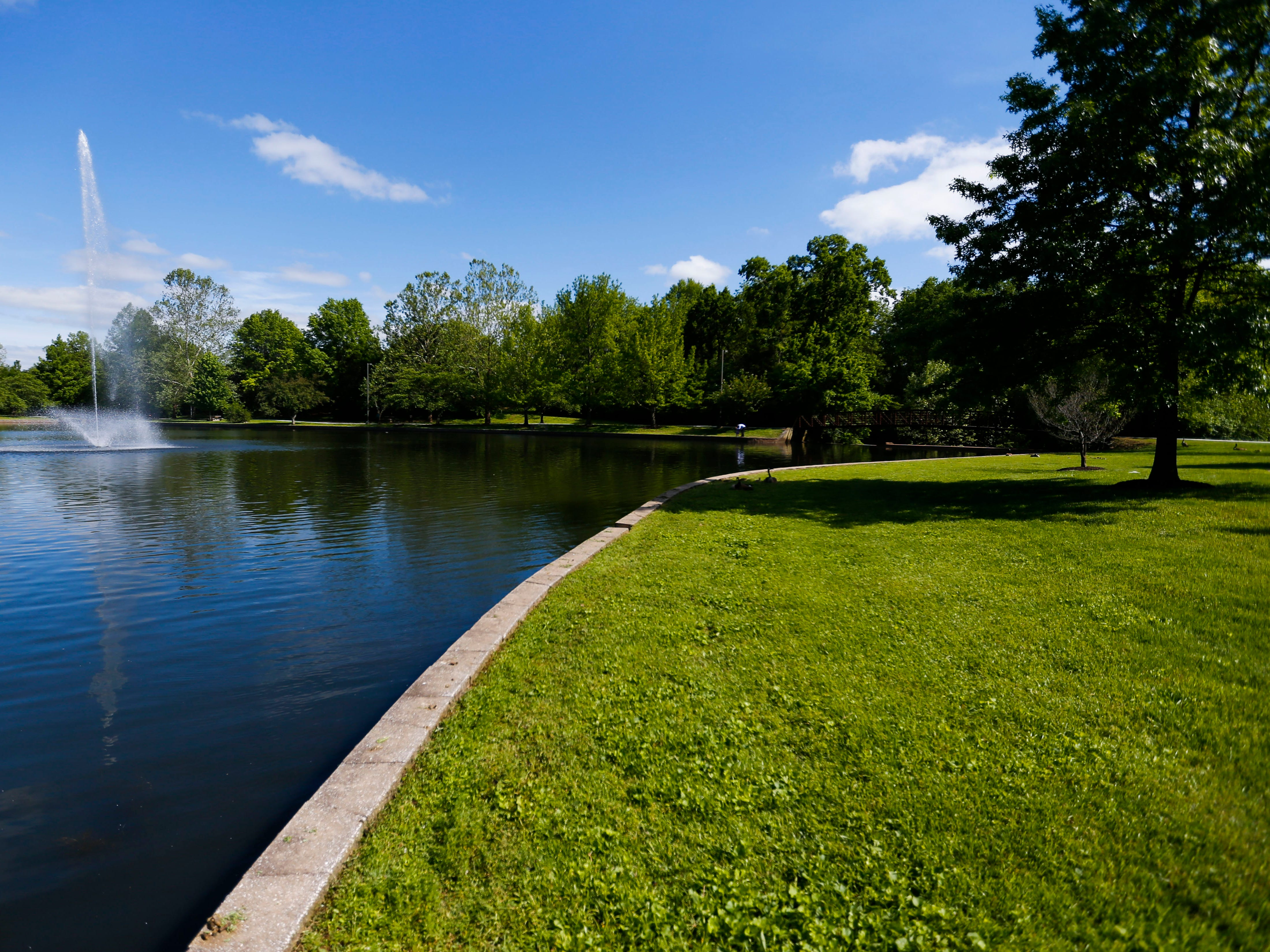 Burrell Behavioral Health dedicated the lake on their campus and walking path around it in honor of Burrell's founder, Dr. Todd Schaible, on Friday, May 10, 2019.