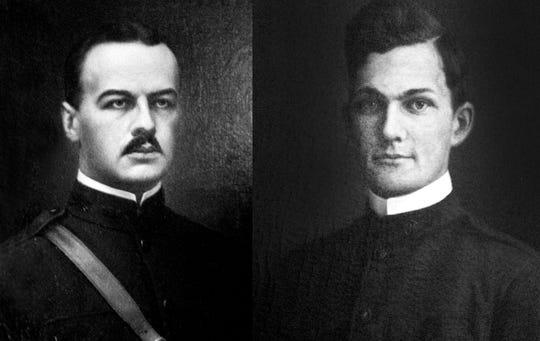 Jay Frank Clemmer, left, and Robert McGuffin.