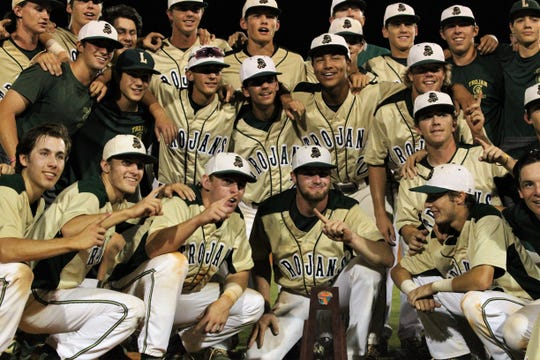 Lincoln baseball beat Chiles 5-4  in 10 innings during a District 2-8A championship game on Thursday, May 9, 2019.