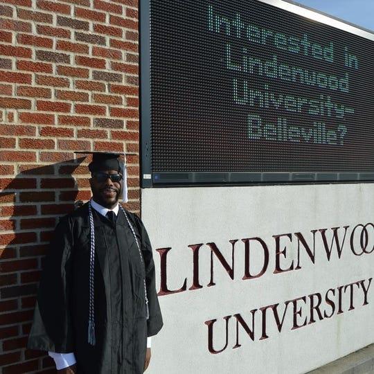 John Charles Kimbrough graduates this weekend from Lindenwood University.
