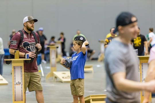 Tallahassee's Emory Parker hopes his recent finishes in two major American Cornhole League tournaments will lead to a sponsorship as he pursues a second career as a professional cornhole player.