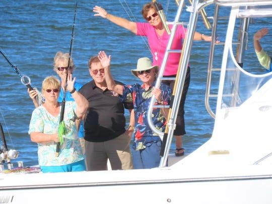 2019 Sebastian Blue Water Open Committee members, from left: Kathy Burns, Eva Chapman, Rick Giteles, Warren Dill and Karen McElveen.