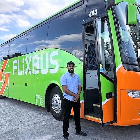Europe's low-fare FlixBus expands into El Paso; aims to get car drivers to take bus trips