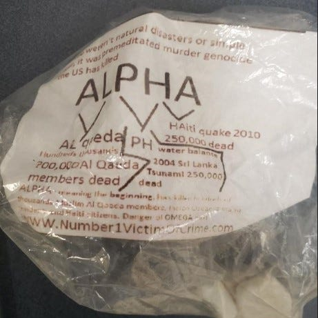 Bizarre 'Alpha' packages linked to computer malware left in yards of El Paso homes