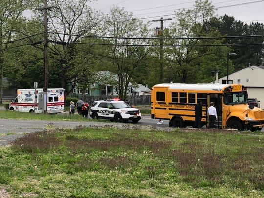 Vineland Police investigated a collision where a Pittgrove Board of Education bus was reportedly struck May 1 on Oak Road, near Delsea Drive, Vineland.