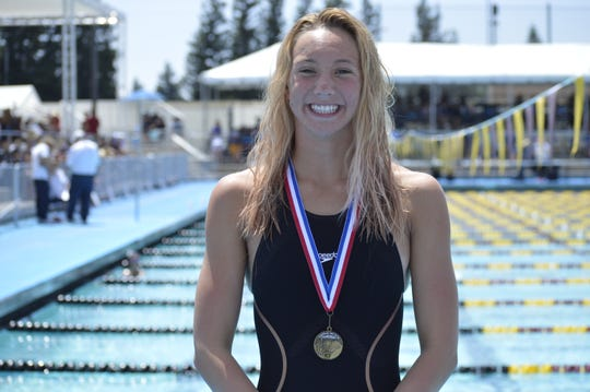 Redwood's Alex Roberts is the Times-Delta prep athlete of the week.