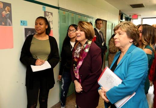 Sen. Amy Klobuchar, In Yonkers: Focus On School Infrastructure