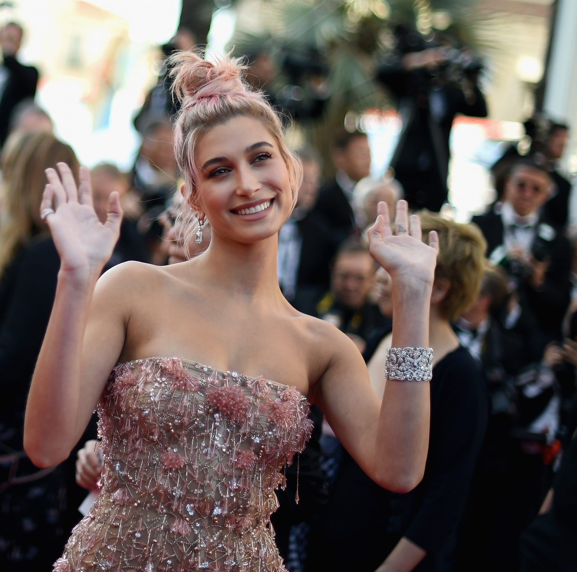 Did Hailey Baldwin inspire lyrics in new Ed Sheeran-Justin Bieber single, 'I Don't Care'?