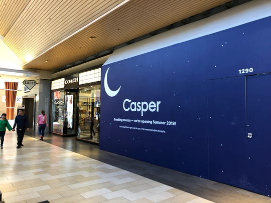 Casper plans to open 200 mattress stores in the next three years, including one at the Christiana Mall this summer.