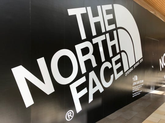 The North Face will open next to Oakley and across from the Apple store in the Christiana Mall on June 14.
