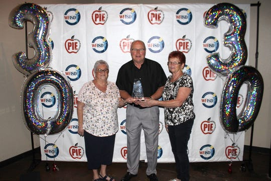 Friberg-Cooper United Methodist Church was named Partner of the Year at the 2019 Wichita Falls Independent School District Partners in Education banquet last week. The church partners with Scotland Park Elementary and, among the various charitable efforts, donates shoes at Christmas, hosts two events with free admission and sponsored a kindergarten trip to the pumpkin patch.