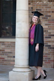 Angela Perry graduates from MSU Texas  Saturday with a degree in accounting. The single mother was determined, after graduating from Iowa Park High School in 2007, to go to college and finish.