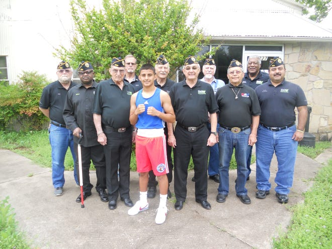 Returning from the Mecca of Texas Golden Gloves in Fort Worth, Emmanuel Carrillo Jr. won the Texas Regional Golden Gloves title in March and now, Emmanuel is preparing for the 2019 USA Boxing Junior Olympics. Emmanuel won the gold medal for the 2018 USA Boxing National Junior Olympics in the Intermediate (13- to 14-year-old old division) at the 106-pound weight class, ranking him as the No. 1 amateur boxer in the nation at that age and weight. The Disabled American Veterans Chapter 41 supports this honor roll student from McNiel Middle School.
