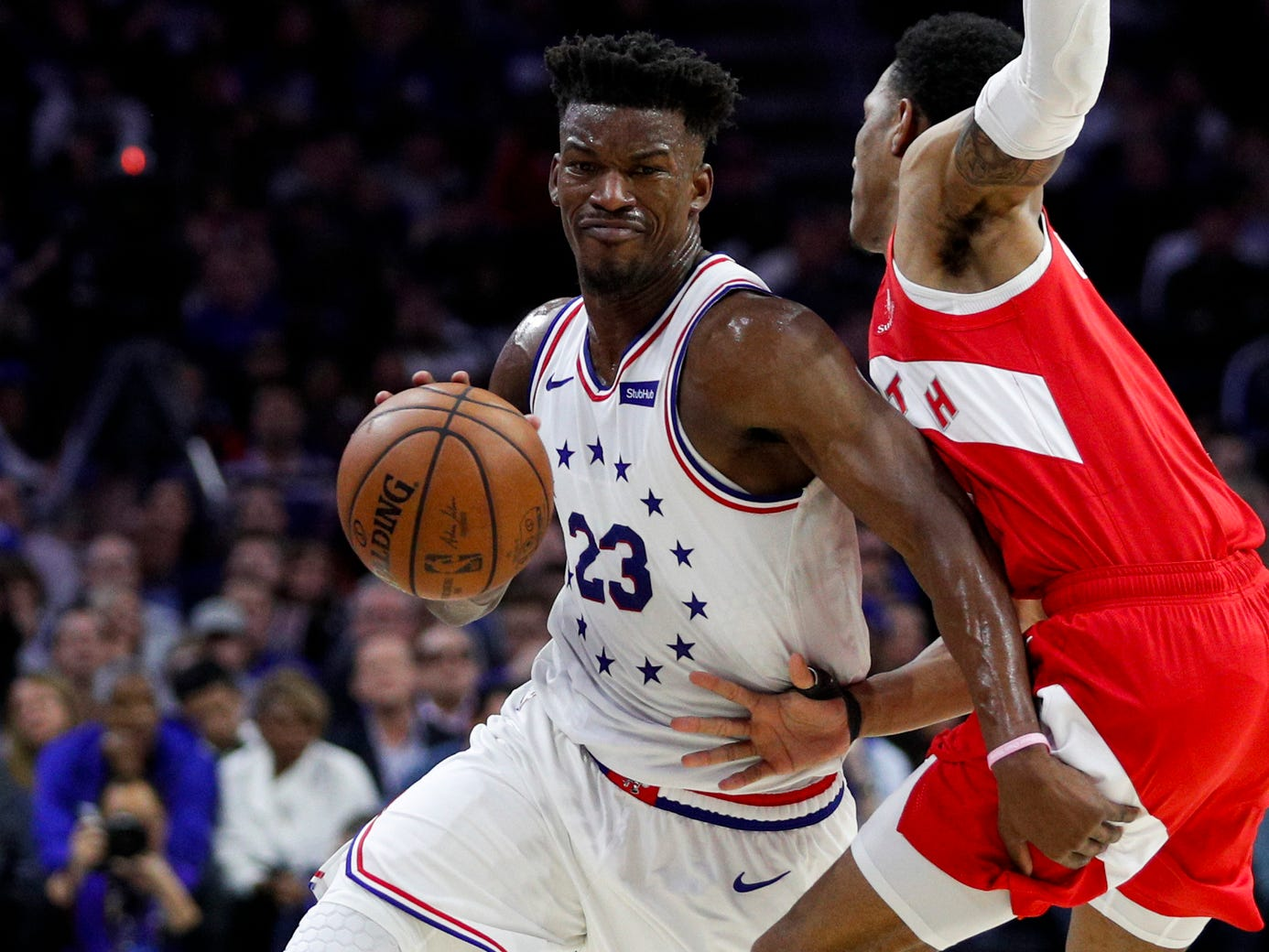 Opinion: Pushed by his intense desire to win, Jimmy Butler leads Sixers to Game 7