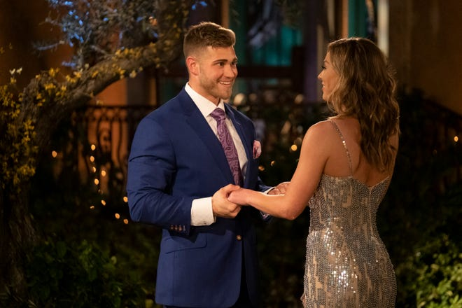 "THE BACHELORETTE - ""1501"" - It's a tractor...It's a plane...It's the self-appointed king of the jungle! Hannah's search for fierce love is matched with fierce competition as one hopeful bachelor sets a high bar by jumping the fence, while another pops out from the limo, in true beast fashion. At the end of the day, whether he is a golf pro looking to be Hannah's hole-in-one, a Box King seeking a woman who checks all his boxes, or a man with a custom-made pizza delivery, everyone wants a piece of Hannah's heart on the highly anticipated 15th season of ""The Bachelorette,"" premiering MONDAY, MAY 13 (8:00-10:01 p.m. EDT), on The ABC Television Network. (ABC/John Fleenor)