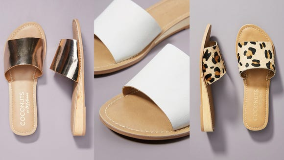 Go nuts for Coconuts (sandals, that is).