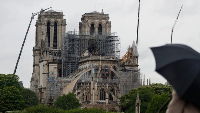 Notre Dame Cathedral Fire Melted Scaffolding To Come Down Soon