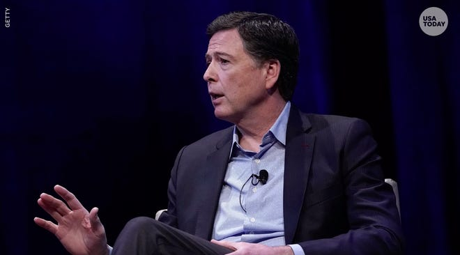 Comey: Trump would be charged with obstruction if he was not president