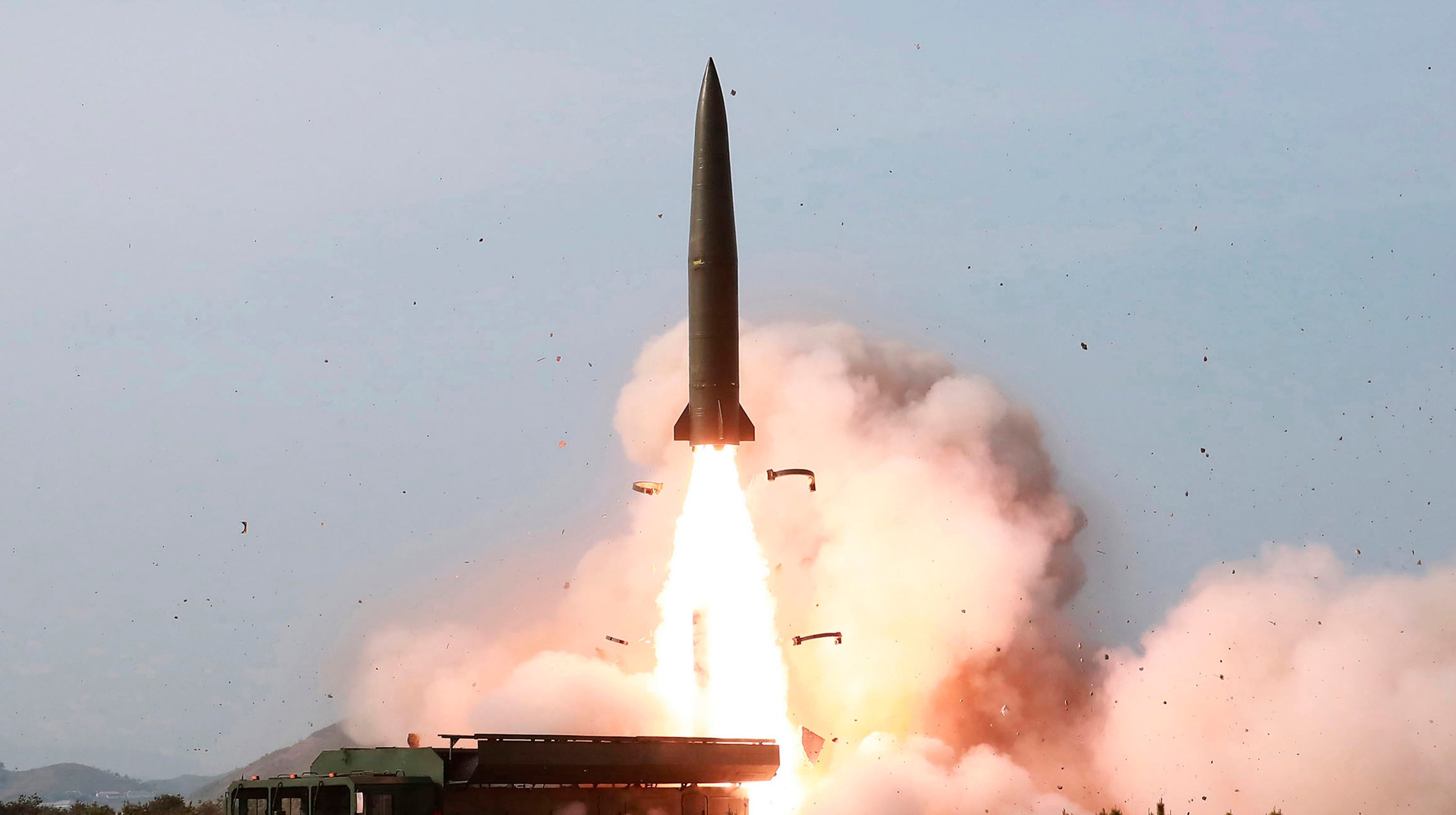 North Korea Missiles In Recent Test Likely Were Supplied