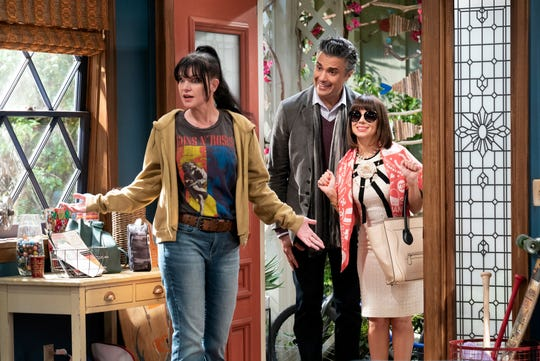 "Pauley Perrette plays a woman whose sister and brother-in-law show up on her doorstep in CBS comedy ""Broke."""