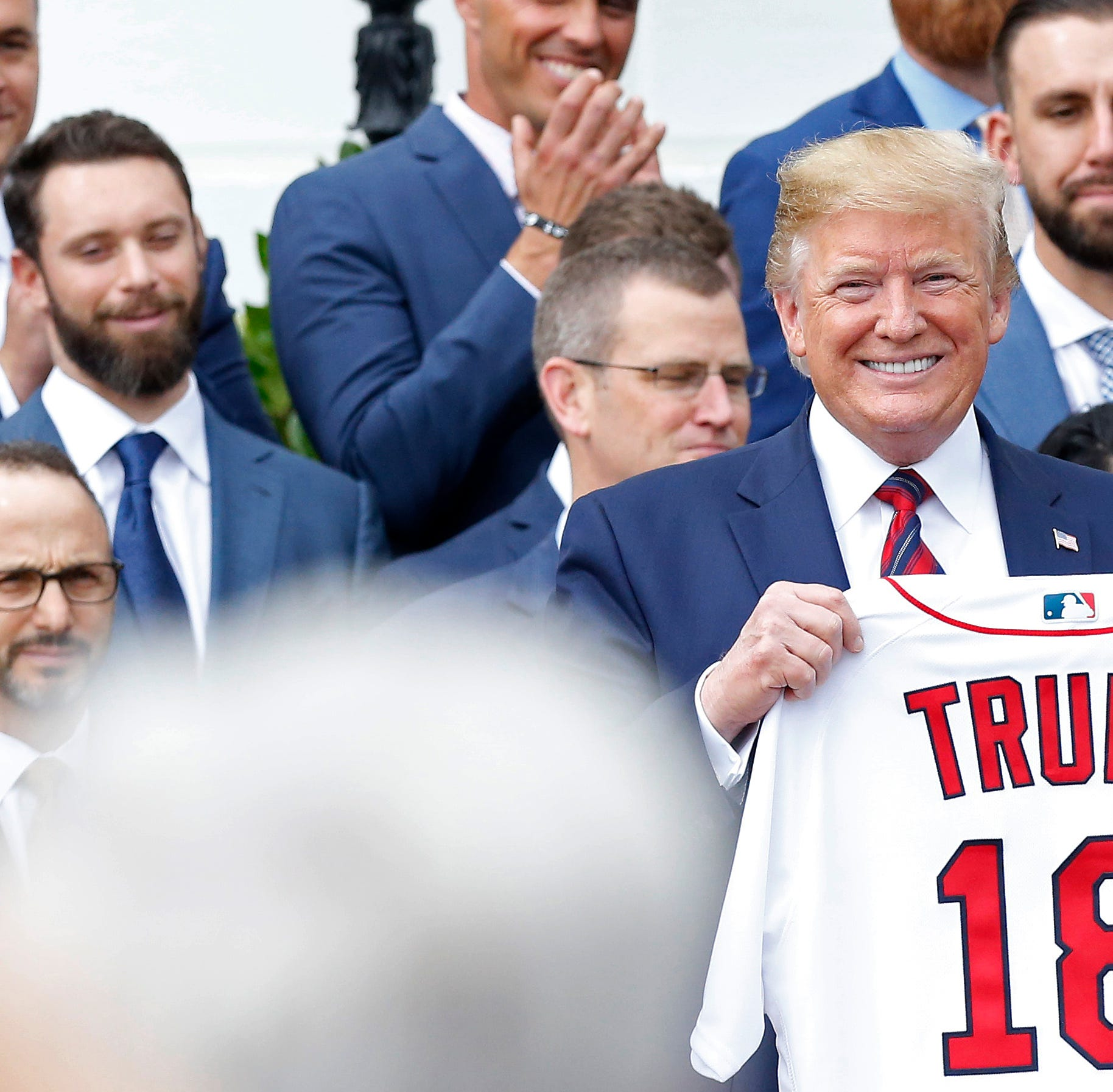 Did Donald Trump honor the Red Sox or the 'white' Sox?
