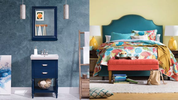 Save sprucing up your bedroom or bathroom with furniture from Wayfair.