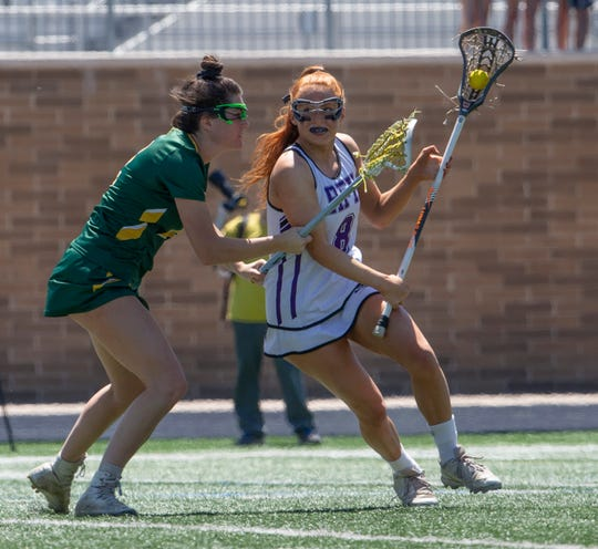 Rumson-Fair Haven defeats Red Bank Catholic in Shore Conference Girls Lacrosse final in West Long Branch, NJ on May 11, 2019.