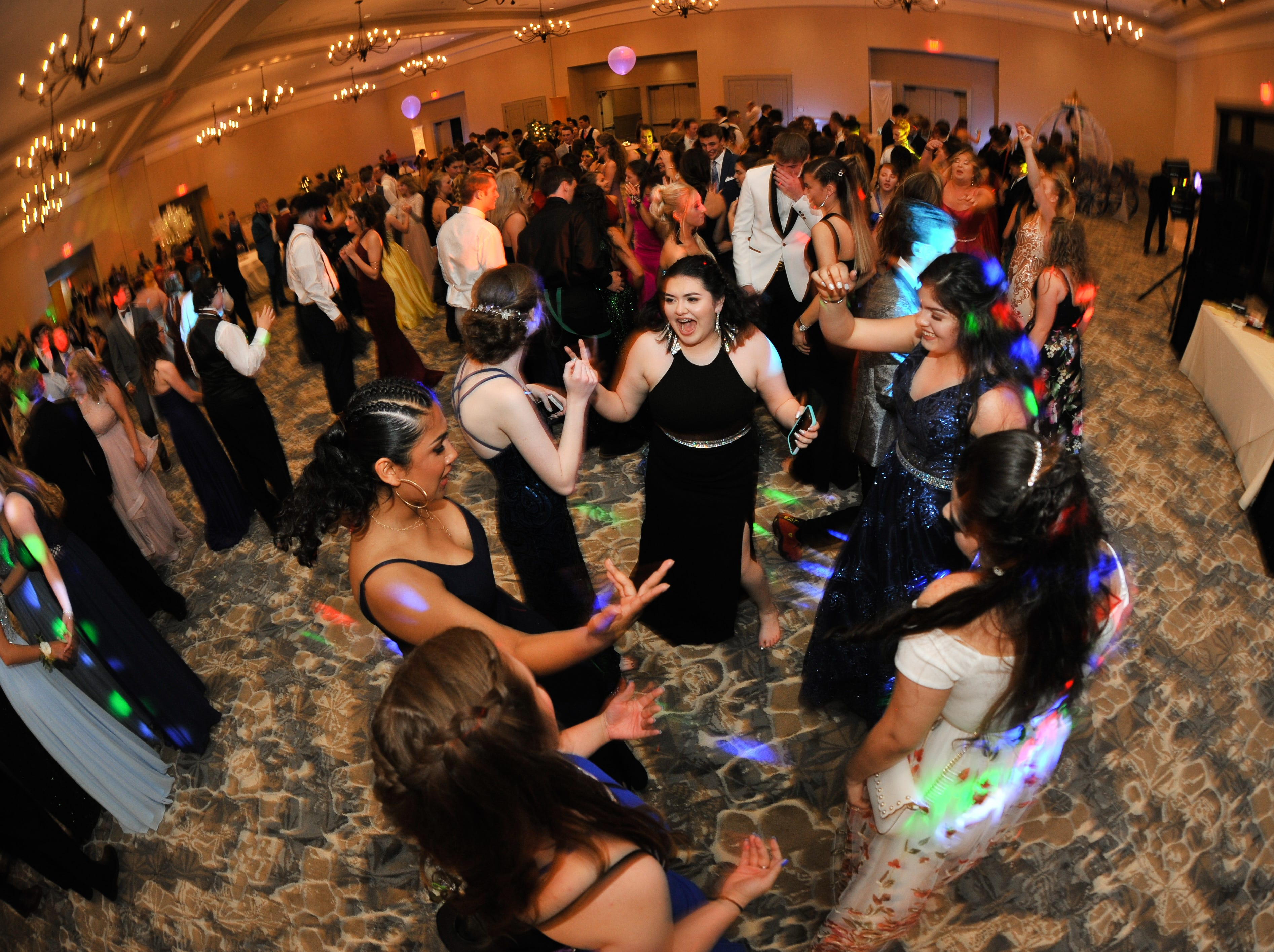 Enka High held its prom May 10, 2019, at Deerpark on the Biltmore Estate grounds.