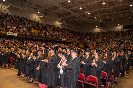 Asheville-Buncombe Technical Community College held its graduation ceremony on May 11, 2019.