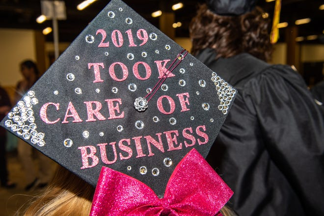 Asheville-Buncombe Technical Community College held its graduation ceremony on May 11, 2019. The college avoided a deficit and potential layoffs after Buncombe County commissioners voted to give an additional $300,000 in funding.