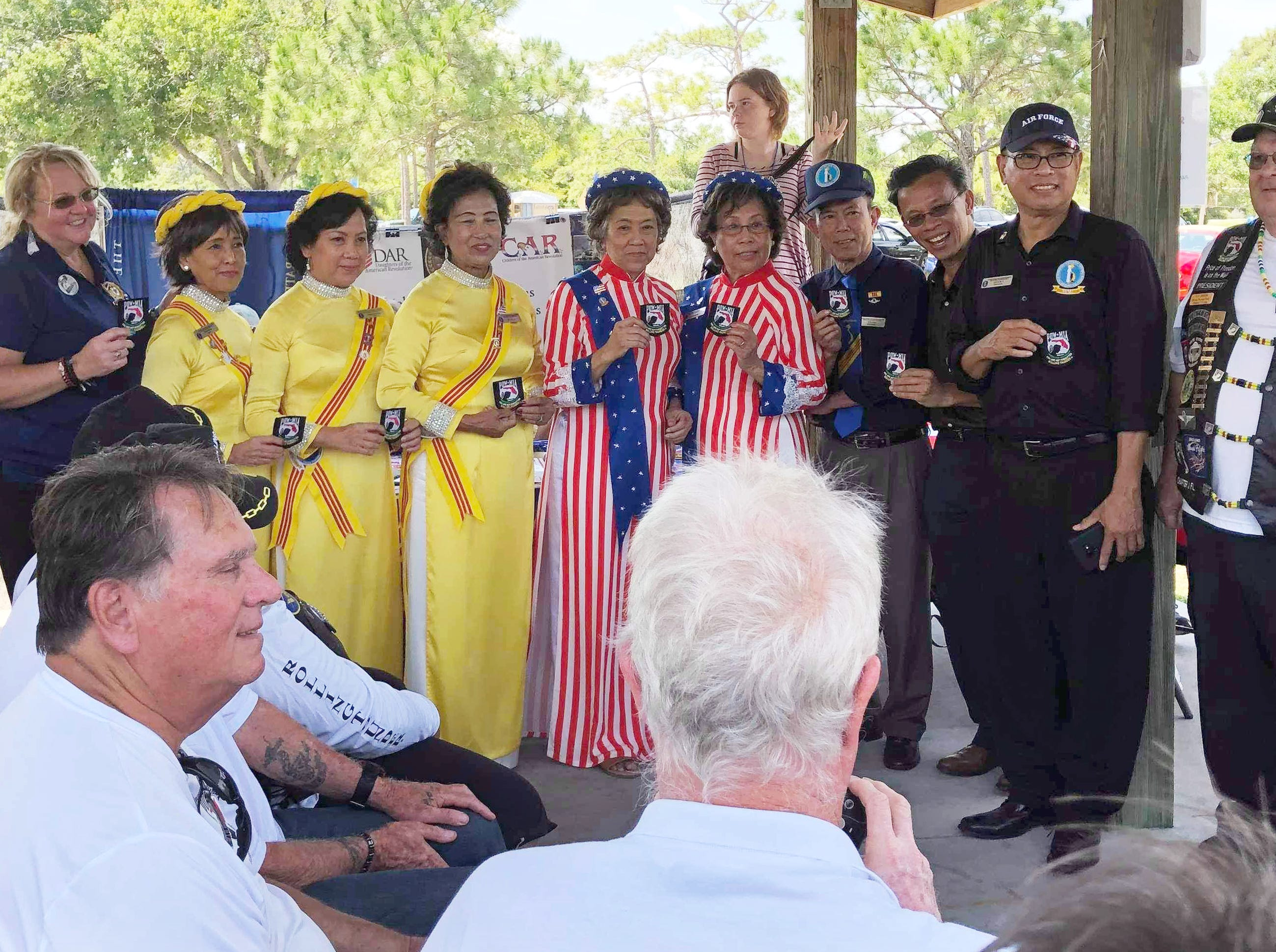 Welcome Home Vietnam & Vietnam Era Veterans, a 1:00pm Saturday event held at the Vietnam Traveling Memorial Wall at Wickham Park in Melbourne. This is part of the Vietnam and All Veterans Reunion that continues until Sunday, May 12.