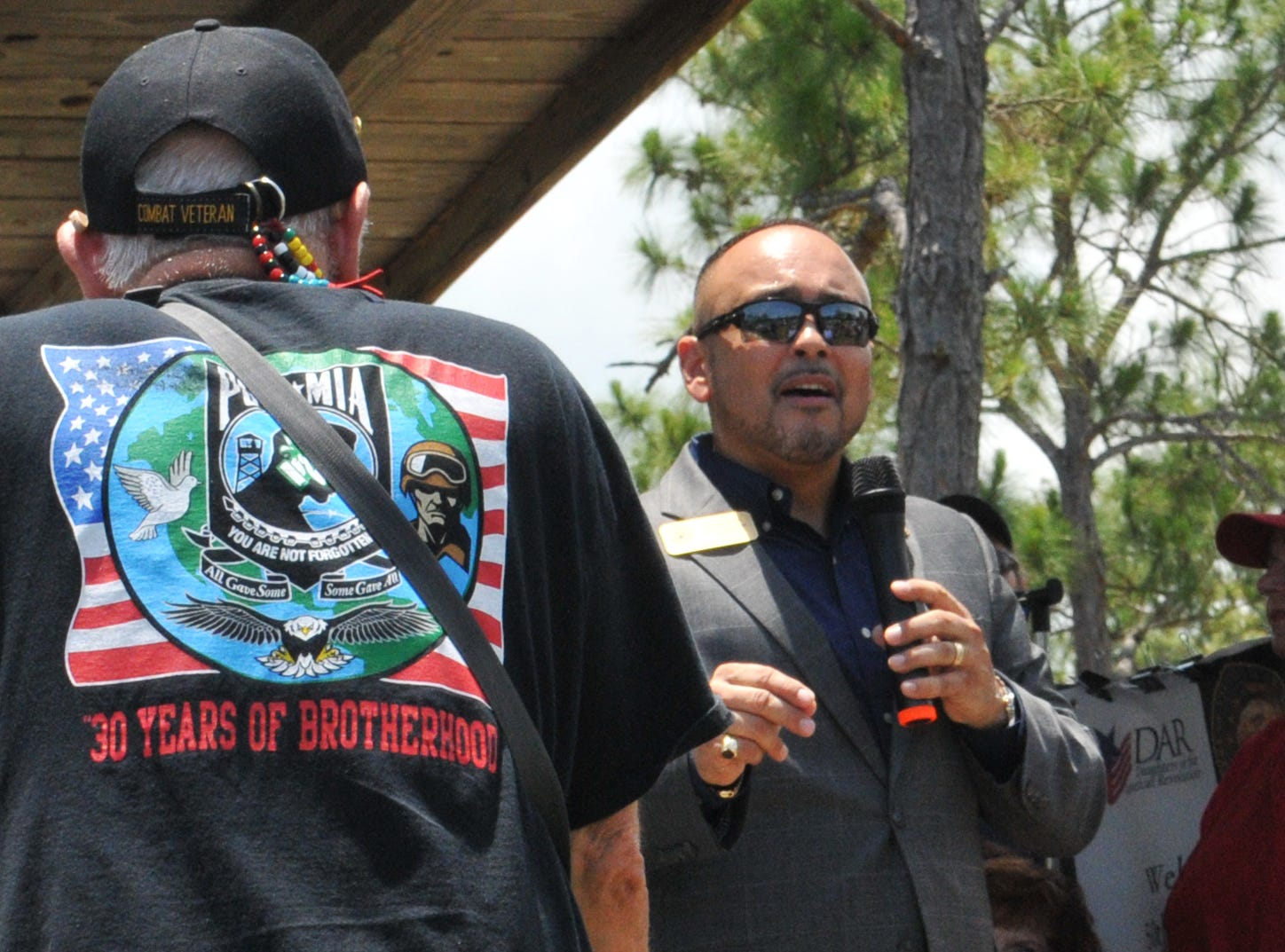 Rob Medina, of Congressman Bill Posey's office. Welcome Home Vietnam & Vietnam Era Veterans, a 1:00pm Saturday event held at the Vietnam Traveling Memorial Wall at Wickham Park in Melbourne. This is part of the Vietnam and All Veterans Reunion that continues until Sunday, May 12.